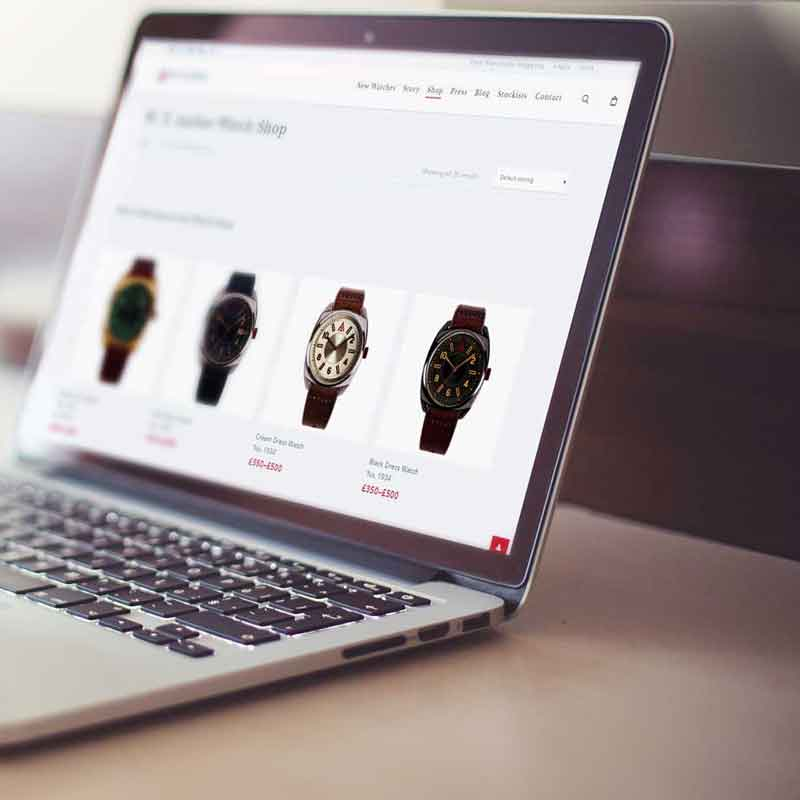 ECOMMERCE WEBSITE DESIGN AUTHOR STUDIOS WT AUTHOR