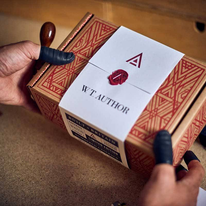 PACKAGING DESIGN BY AUTHOR STUDIOS WT AUTHOR 1
