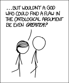 XKCD ontological argument
