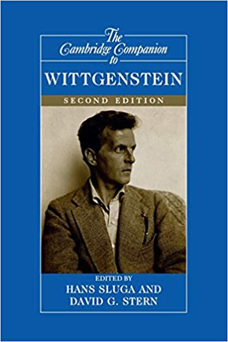 Cambridge Companion to Wittgenstein Hans Sluga David G. Stern