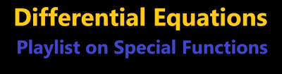 differential equations special functions orthogonal polynomials