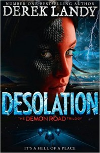 Desolation (The Demon Road Trilogy, Book 2) by Derek Landy