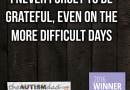 There is never a time when I'm not grateful for my kids with #Autism
