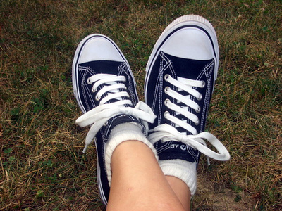 Tied Shoes