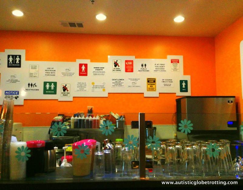 Magic Restroom Cafe:Real Cool Bathroom Signs