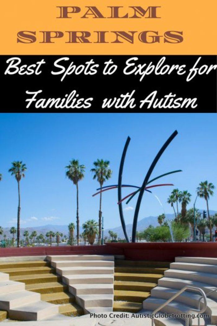 10 Spots to Explore in Palm Springs with Autism pin