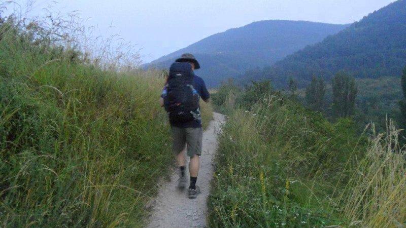 Trekking the Camino de Santiago de Compostela with Autism solo hiker