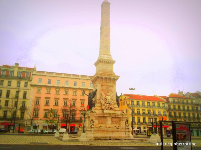 Taking Kids with Autism to Lisbon Portugal piazza