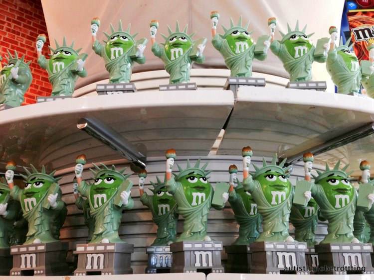 Top Five Kid Friendly Stores in NYC Times Square liberty