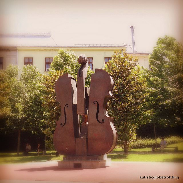 Visiting Bucharest –Our Top Autism Travel Spots violin
