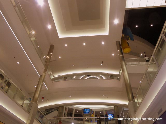 Taking your kids with Autism to the Mall of America ceiling
