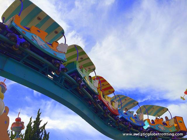 Navigating Universal Studios Orlando with Autism ride