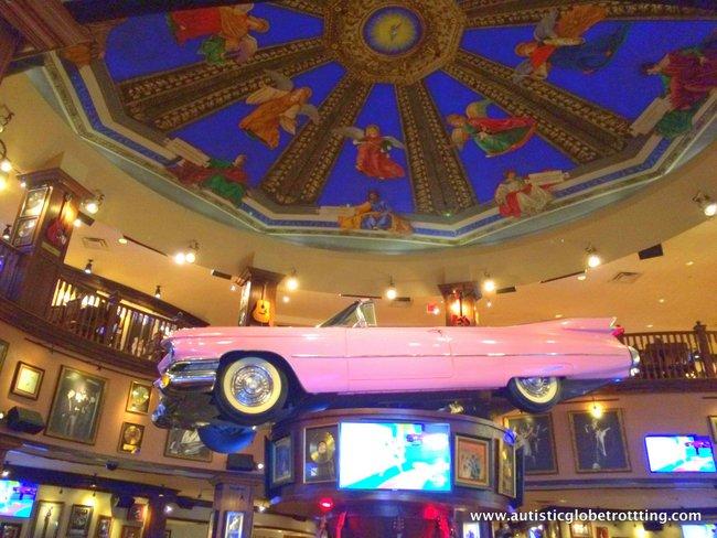 Orlando Hard Rock Café's Behind the Scenes Tour car