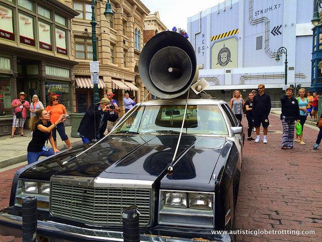 Navigating Universal Studios Orlando with Autism car
