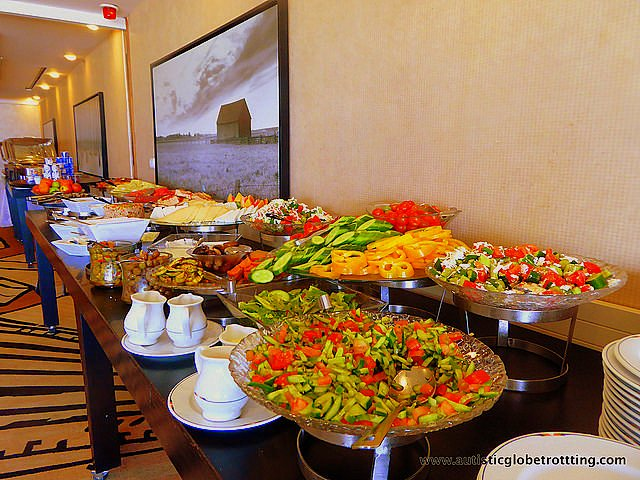 Family Fun at the Crowne Plaza Tel Aviv Beach Hotel buffet