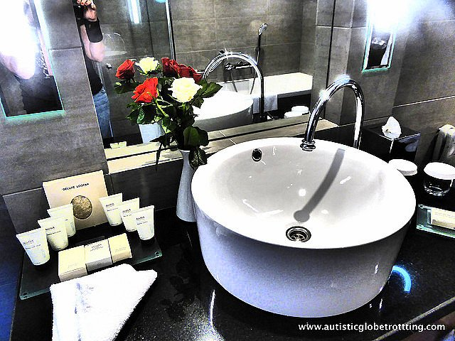 Luxury Family Stay at the Hilton Tel Aviv sink