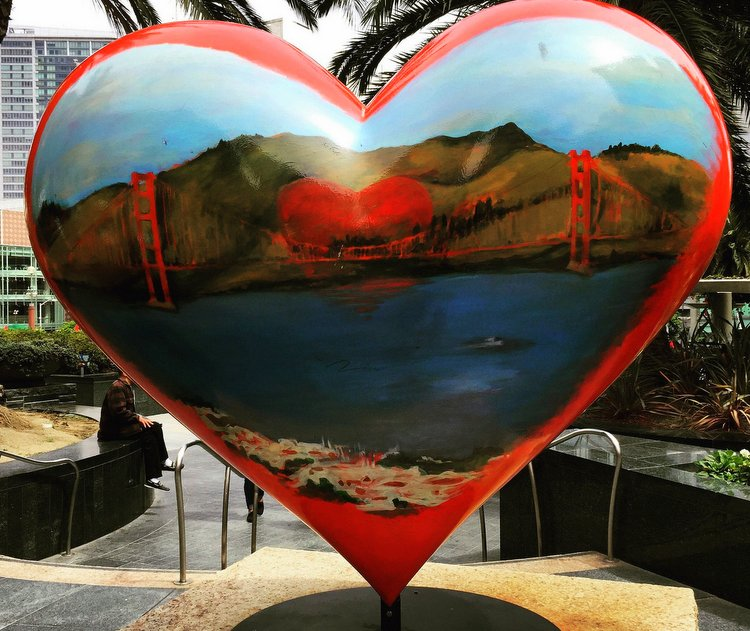 City Sightseeing with San Francisco's Hop On Hop Off Bus heart