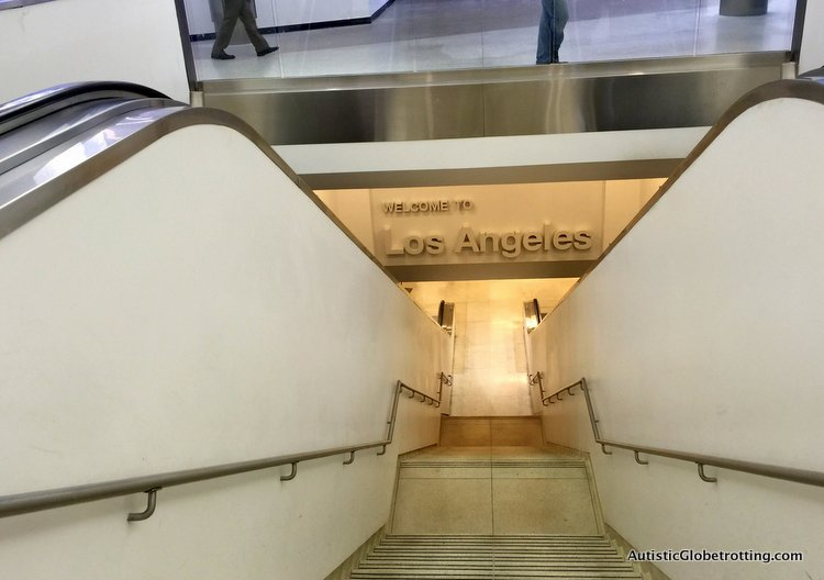 Top Eight Reasons to Avoid Flying Through LAX antique staircase