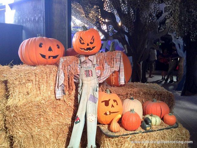 Spooky Times at Knott's Berry Farm pumpkin