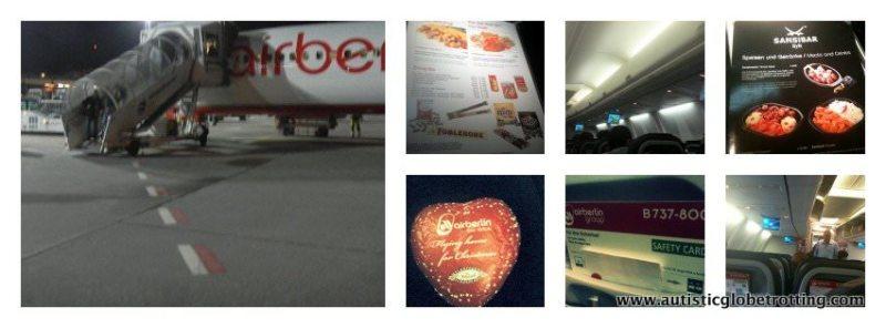 Budget Travel-Flying Air Berlin food