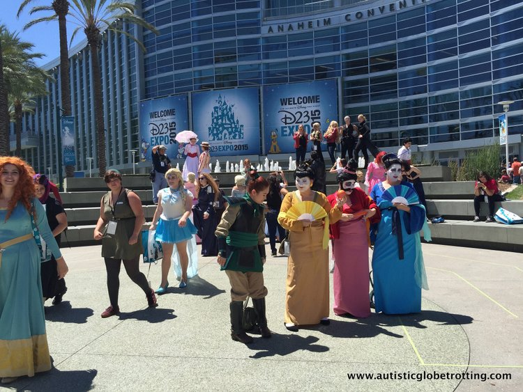 Tips and Quips to Survive the Disney D23 Expo costumes