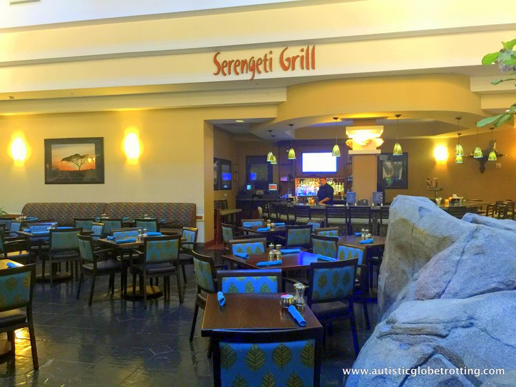 Family Stay at Embassy Suites Anaheim South Hotel restaurant