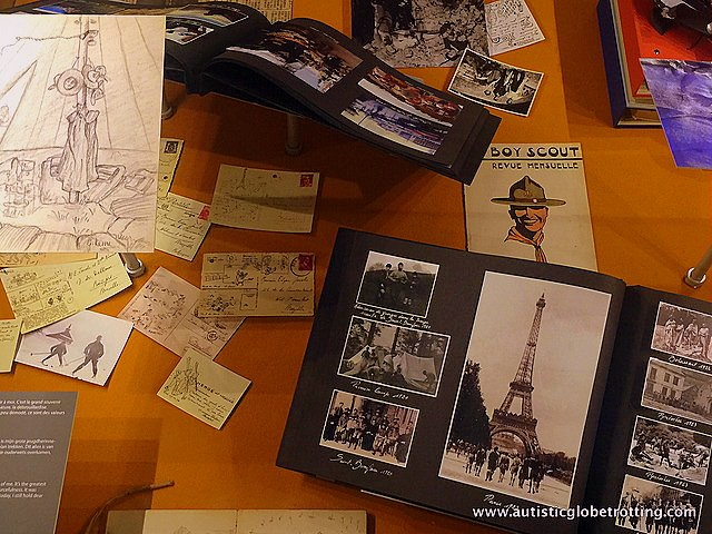 Exploring the Hergé Museum with Family desk