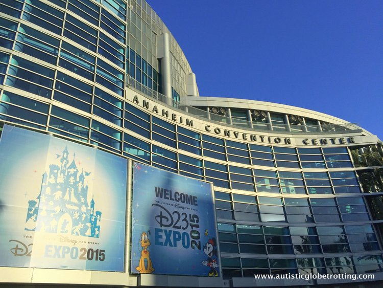 Tips and Quips to Survive the Disney D23 Expo building