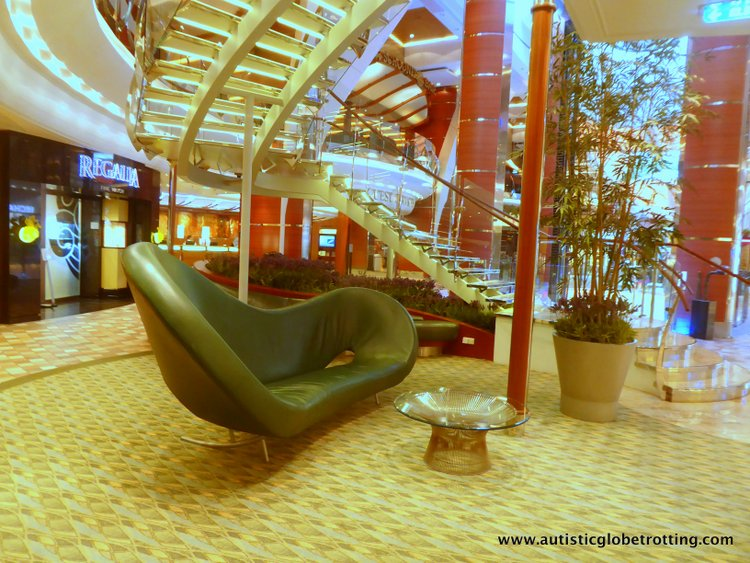 Cruising Oasis of the Seas with Autism lounger