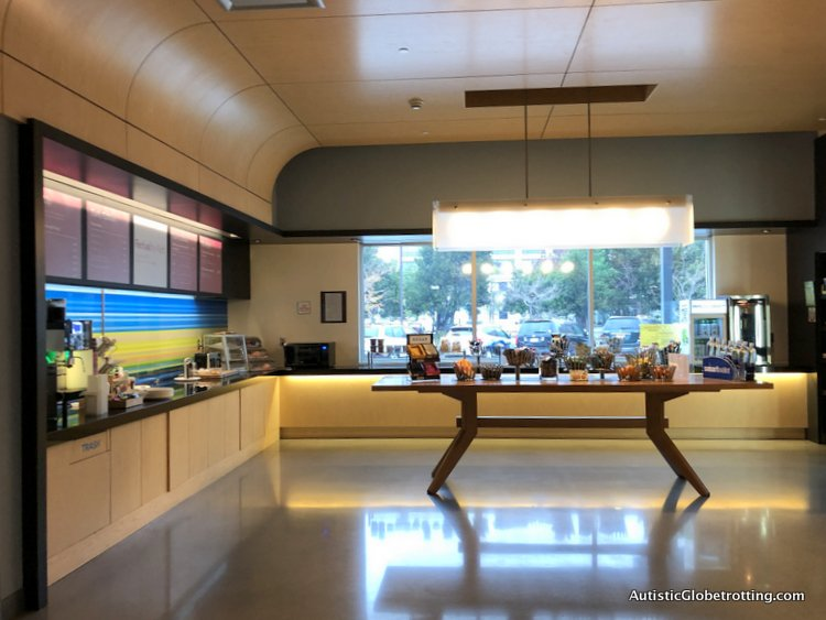 Family Fun Stay at the Aloft San Francisco Airport dining table