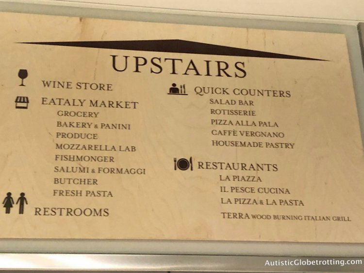 Exploring Eataly in Los Angeles with Autism where to go with autism