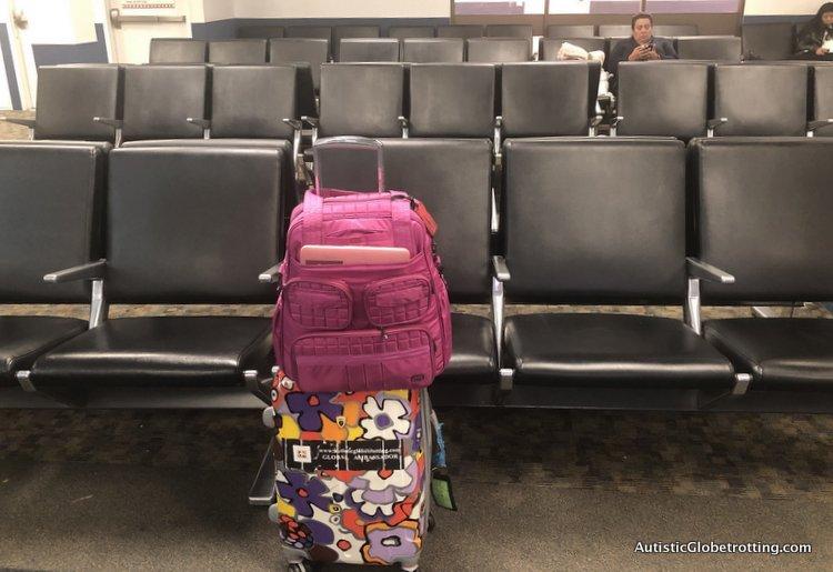 Alaska Airlines Exceeds Expectations Despite a 2 Hour Delay empty termina at flight