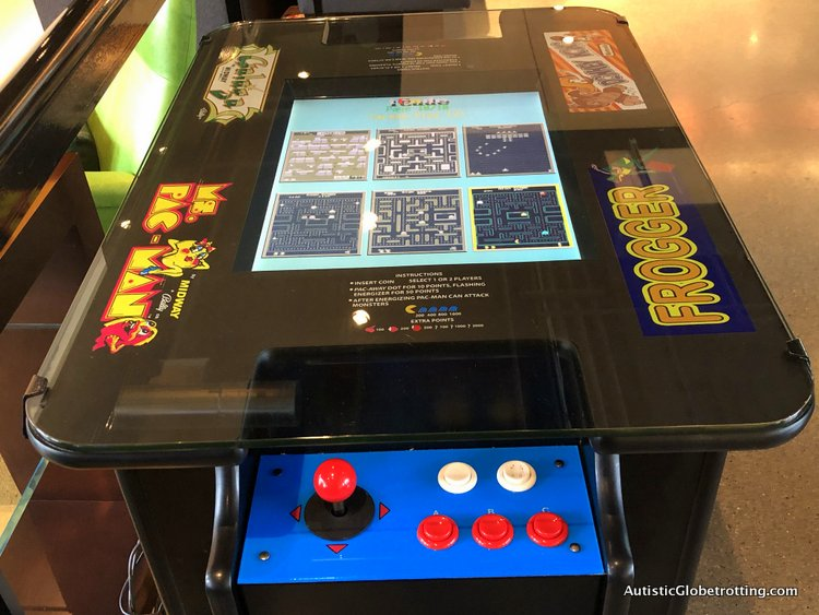 Family Fun Stay at the Aloft San Francisco Airport arcade tables