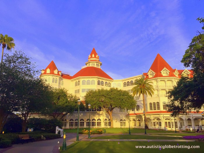 Our Family Stay at Disney's Grand Floridian outside