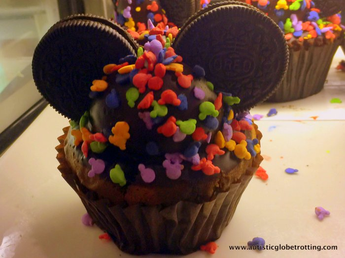 Our Family Stay at Disney's Grand Floridian cupcake