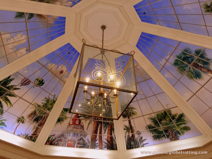 Our Family Stay at Disney's Grand Floridian ceiling