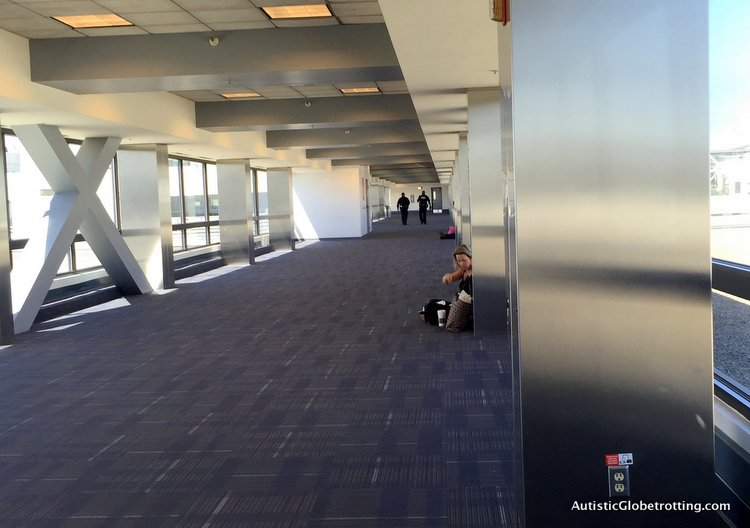 Top Eight Reasons to Avoid Flying Through LAX endless corridors