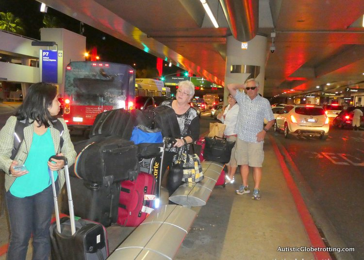 Top Eight Reasons to Avoid Flying Through LAX people waiting