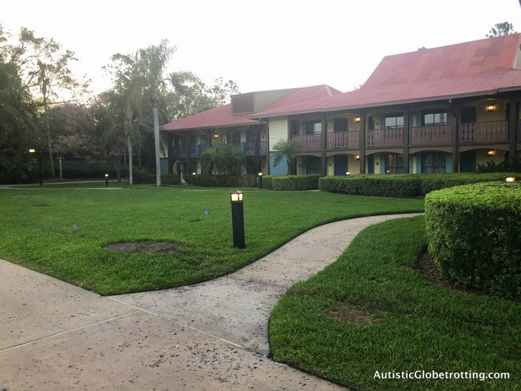 Disney Coronado Springs Resort Tips for Families casita eight building