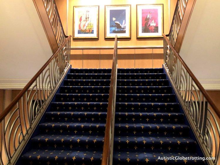 staircase on disney dream
