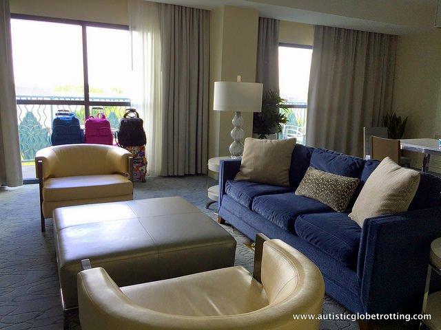 Family Friendly Stay at the Walt Disney World Swan Hotel blue