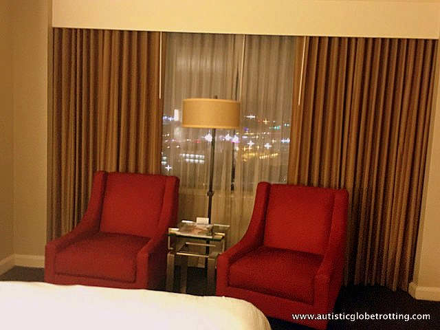 Family Stay at the DoubleTree Los Angeles chair
