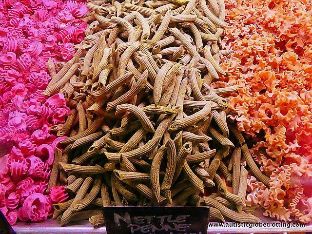 Exploring LA's Grand Central Market with Family pasta