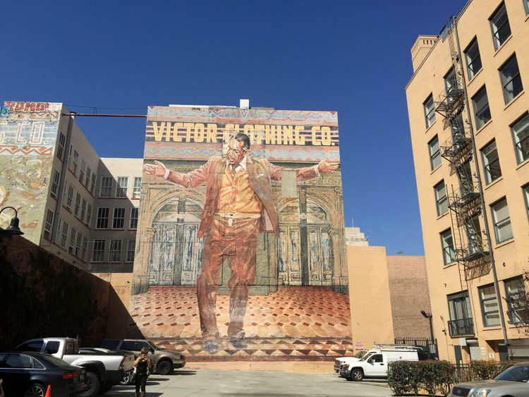 Top Spots to Stay on your Next Los Angeles Vacation mural