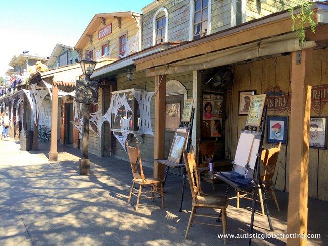 Spooky Times at Knott's Berry Farm saloon