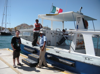 Visiting Cabo San Lucas' El Arco With Autistic Kids boat