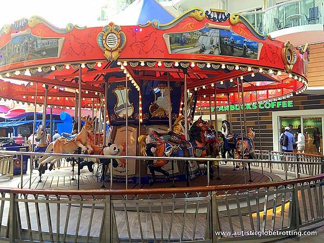 The Autism Friendly Harmony of the Seas carousel