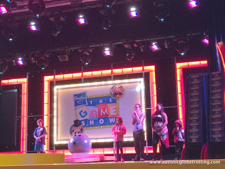 amily Friendly Activities Aboard the Carnival Imagination game