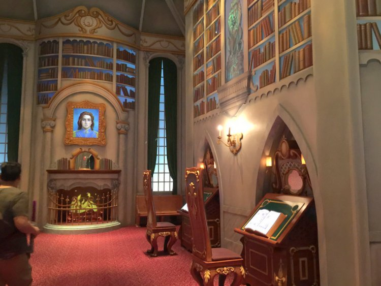 Disneyland's Top Indoor Autism Friendly Rides and Attractions beast's study room