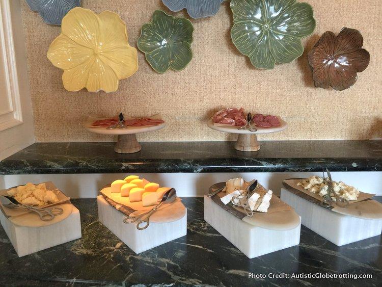 The Ritz-Carlton Orlando Grande Lakes Executive Lounge cheese